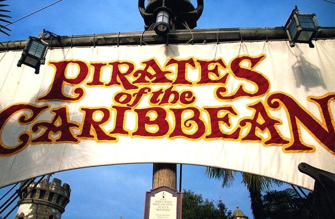 A atração Os Piratas das Caraíbas na Disneyland Paris (photo: Eric RiItchey)