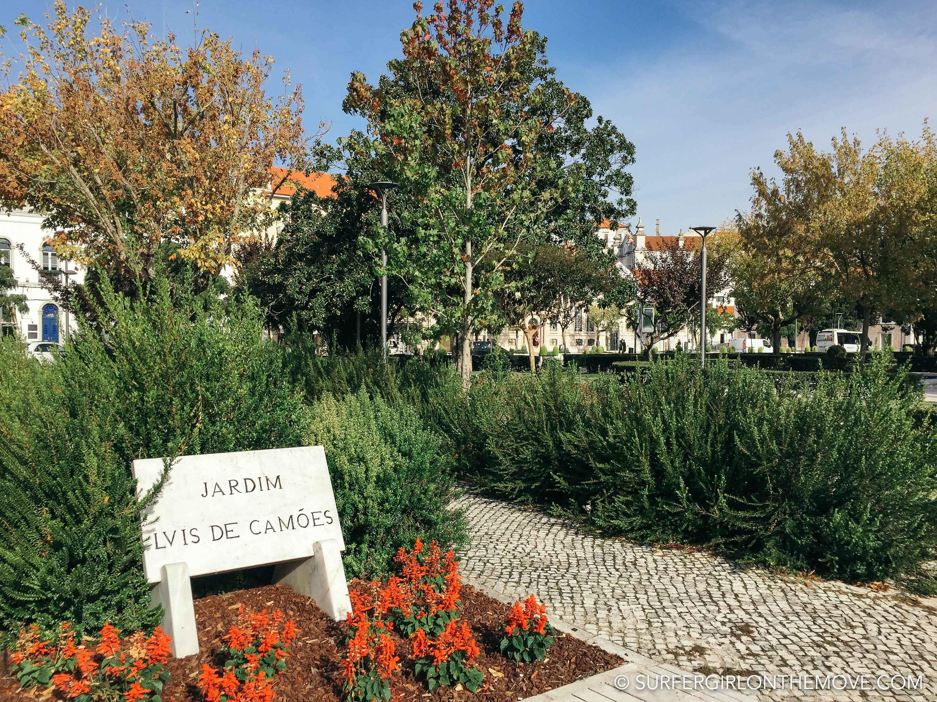 visit leiria garden
