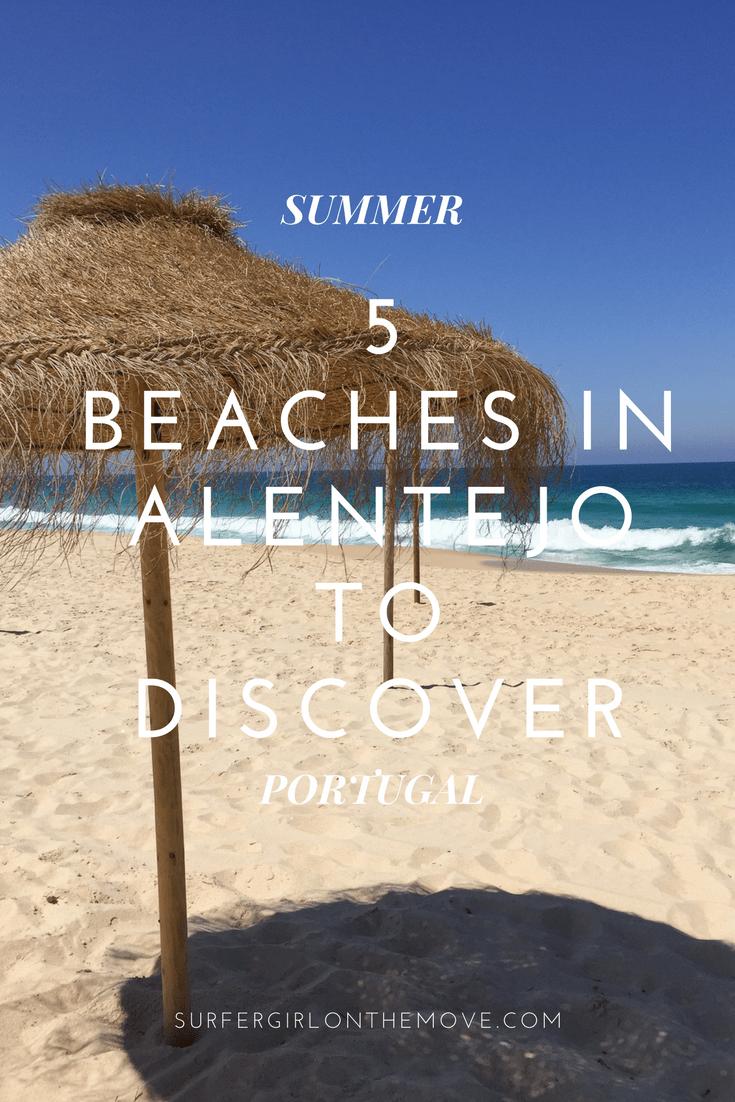 Beaches in Alentejo
