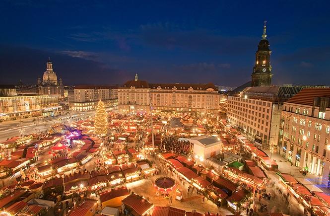 Mercado Natal Dresden