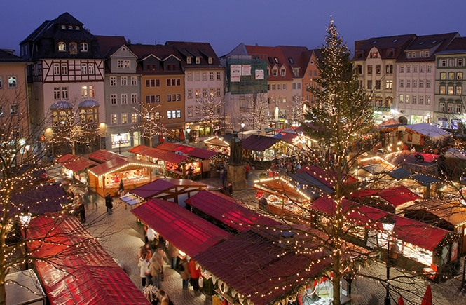 Mercado Natal Estrasburgo