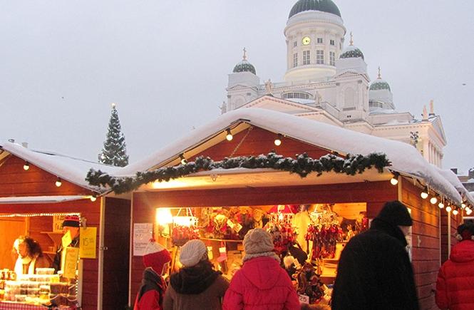 Mercado Natal Helsínquia