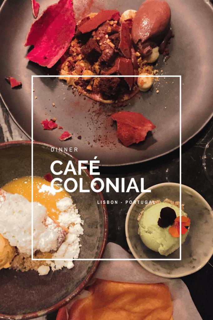 Café Colonial Lisbon