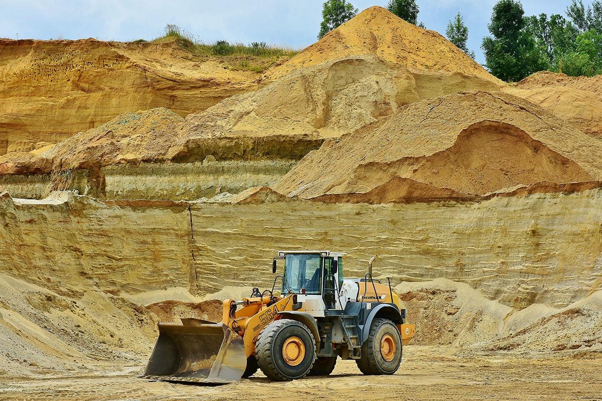Extração de Areia Perigo Ambiental