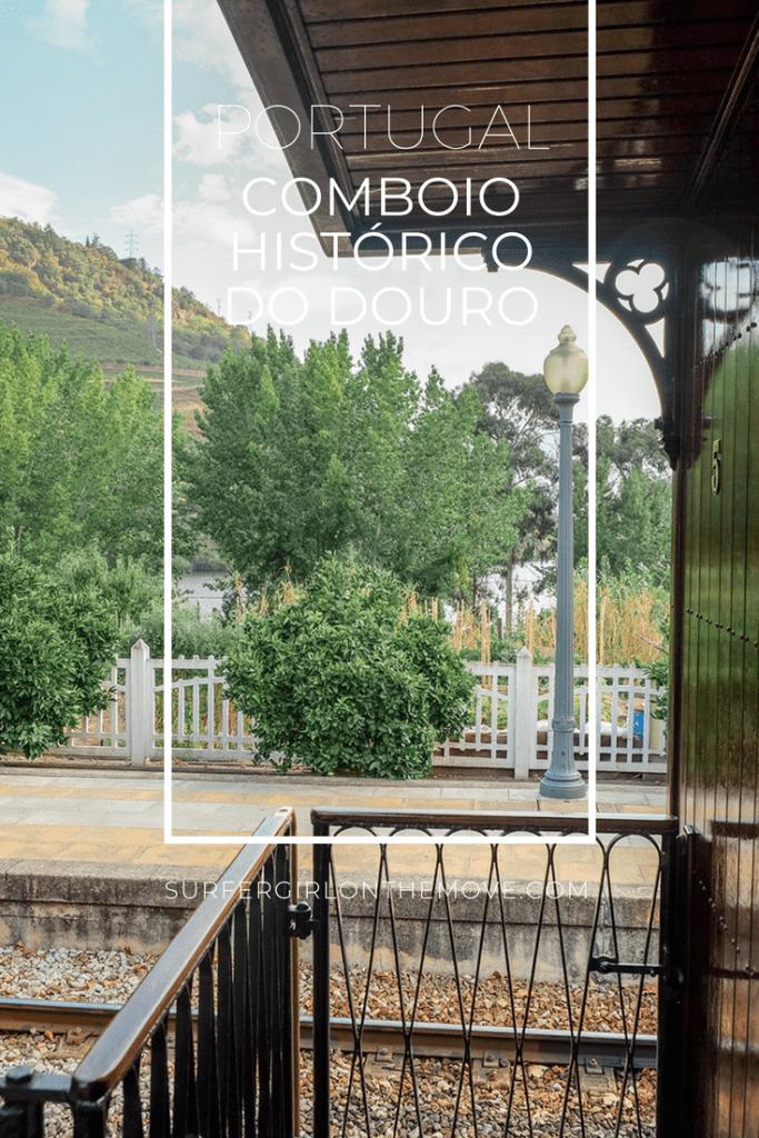 Comboio Histórico do Douro Pinterest