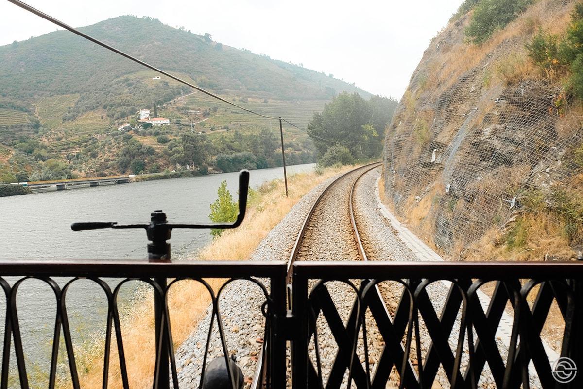 Comboio Histórico do Douro Paisagem