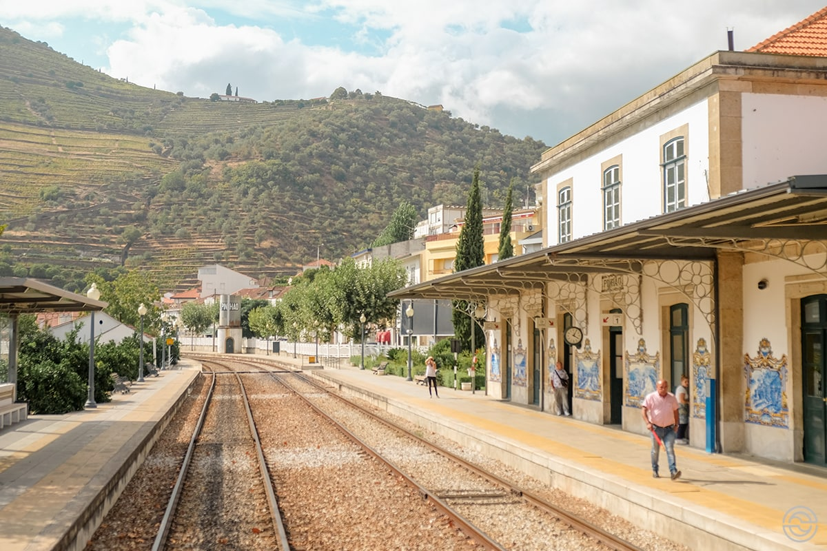 Douro Historical Train Pinhão Station