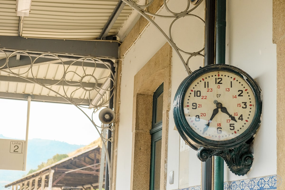 Douro Historical Train Tua Station