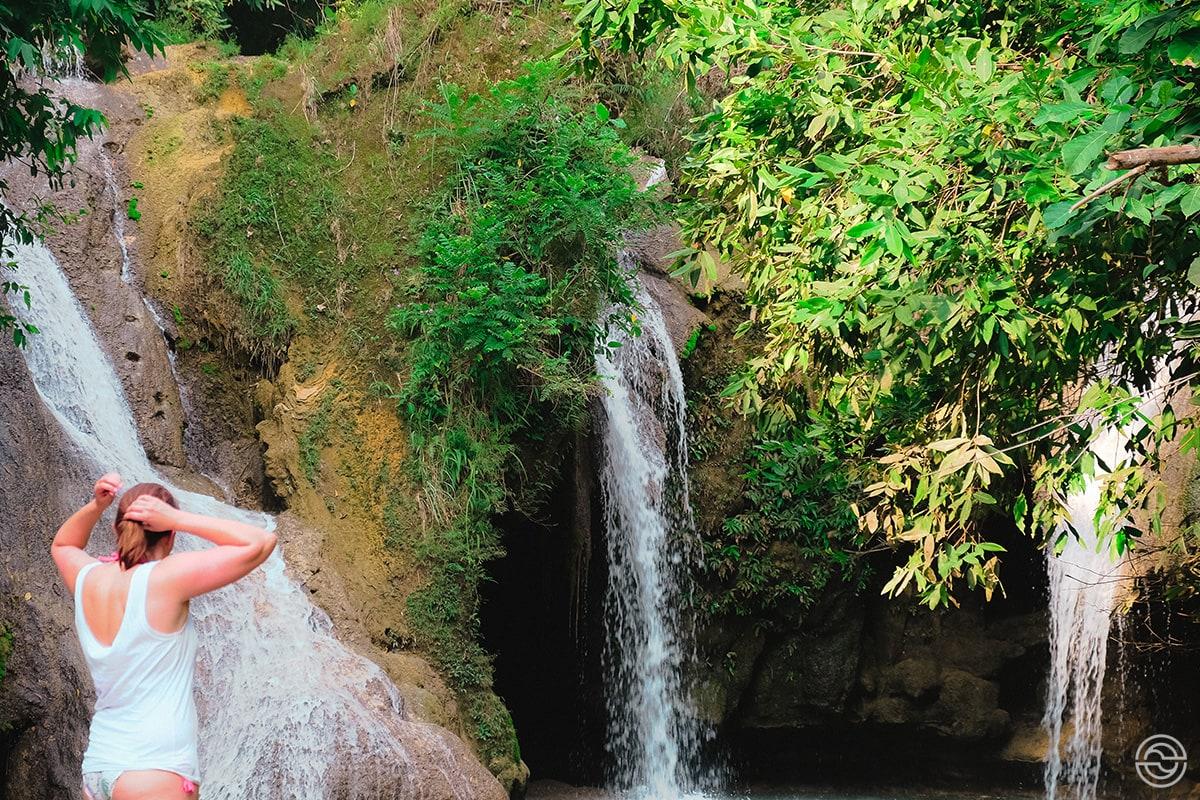 Cascata na selva