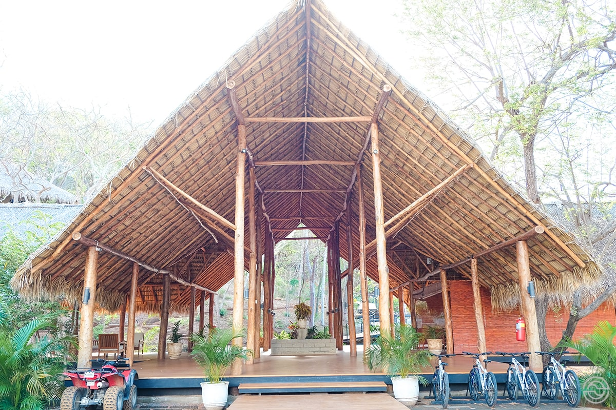 TreeCasa Resort reception