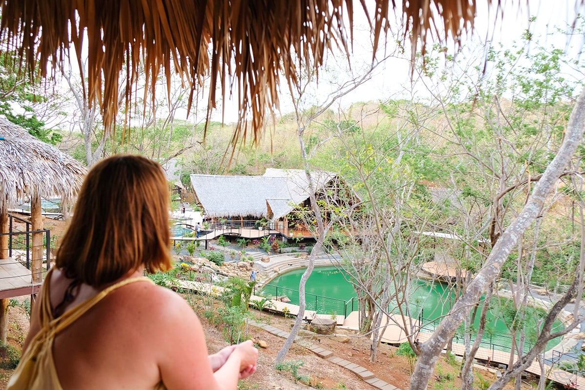 TreeCasa cabin view