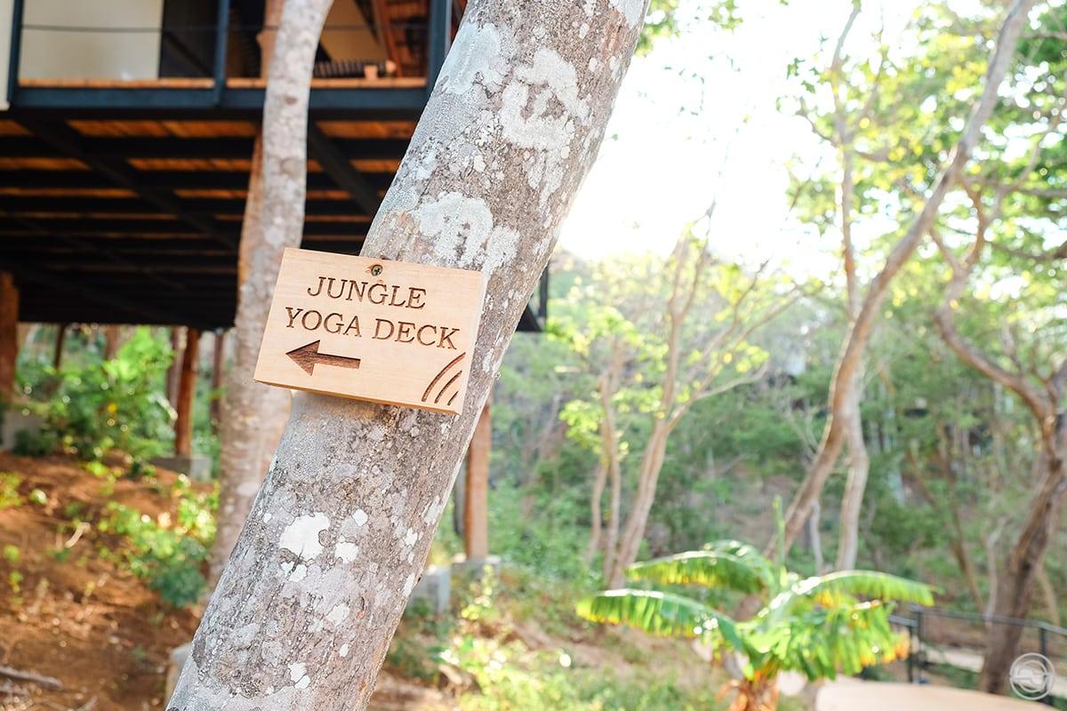 TreeCasa Resort Yoga Deck