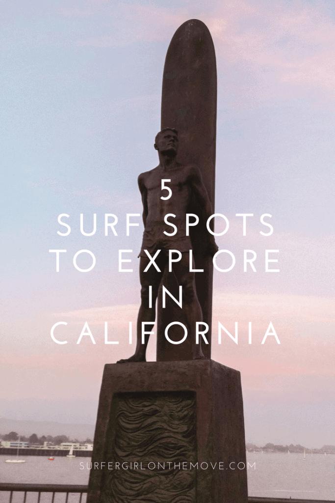 Surf Spots in California