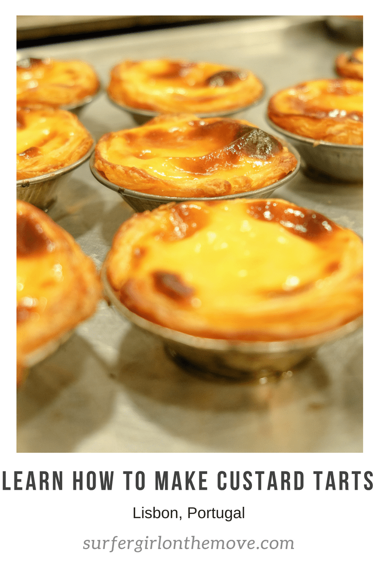Workshop Portuguese Custard Tarts Pinterest
