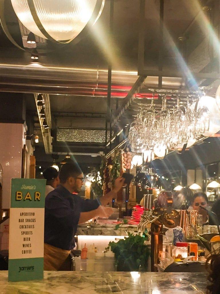 Jamie's Italian Lisboa bar