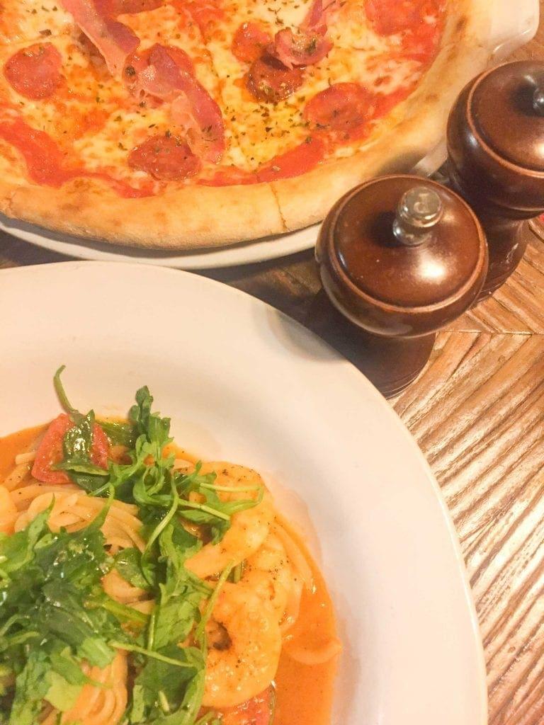 Jamie's Italian Lisboa pasta e pizza