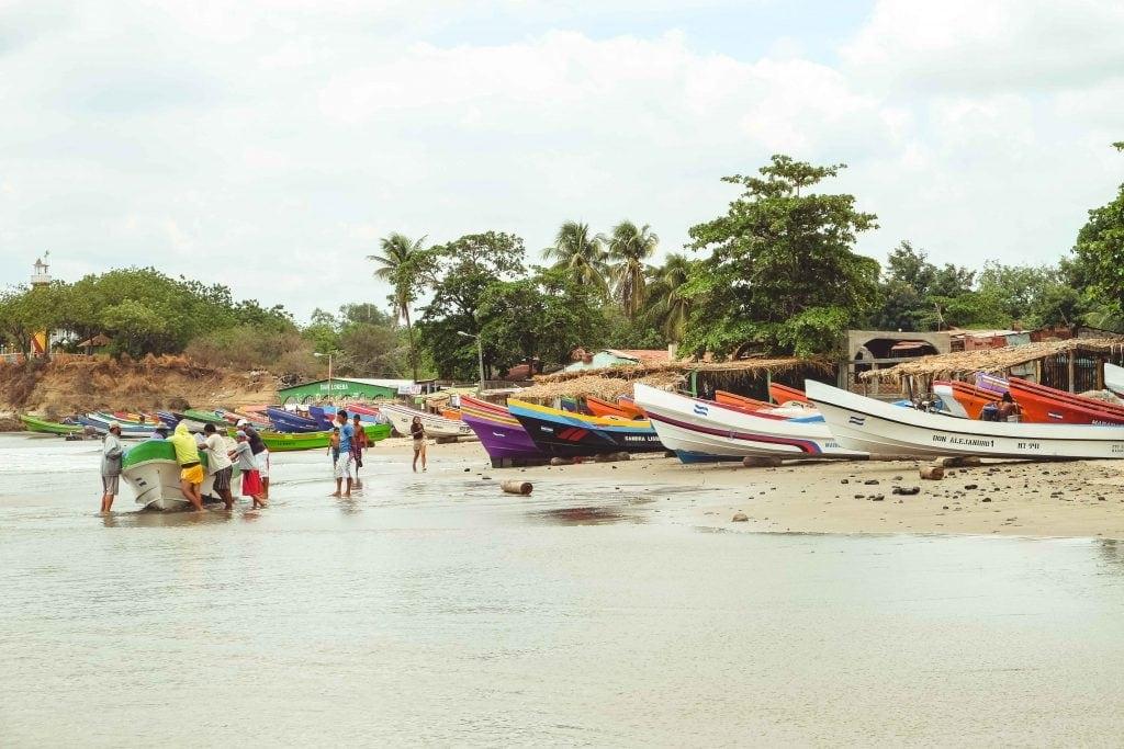 Porto de Pesca Nicaragua