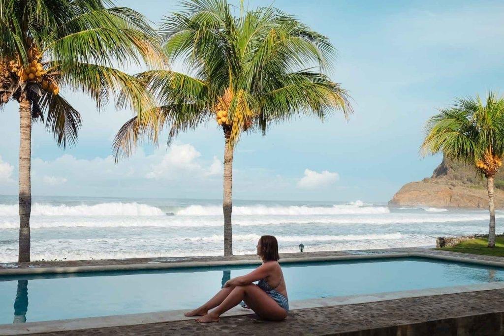 Praia de Colorado Nicaragua