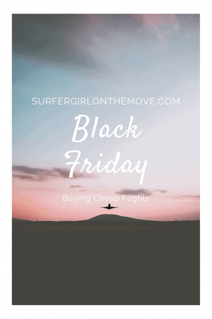 Black Friday is upon us and with it the chance to buy cheap flights. If you're planning to travel in 2019, this may well be a great opportunity to save a few bucks.