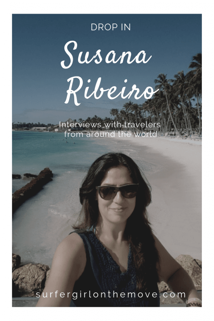 In this segment, the word is from great travelers. They tell us their experiences and give us special tips. Get to know the story of Susana Ribeiro, journalist, professional traveler and author of the Portuguese blog Viaje Comigo.