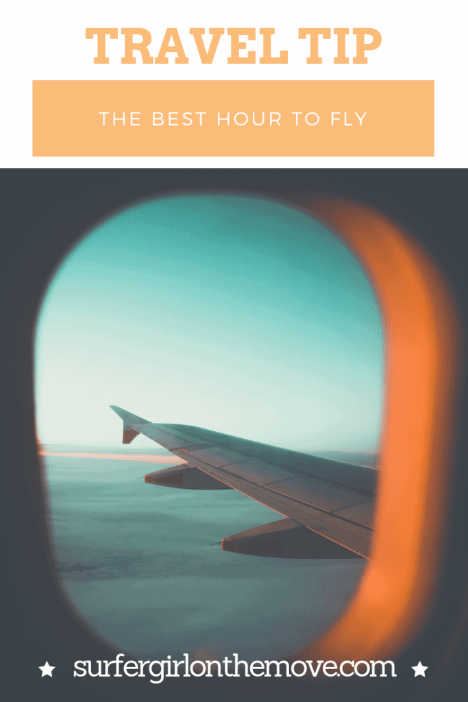 What's the best time of the day to fly? Do you prefer the first flight of the day or the last? Find out what may be related to the time you are flying.