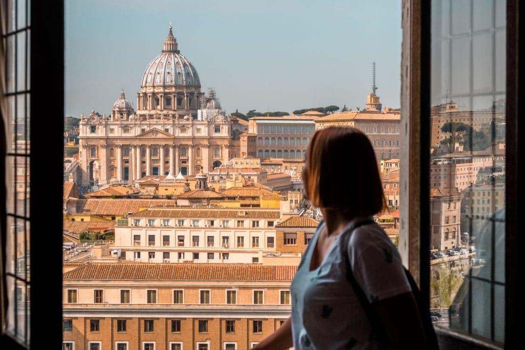 Vista sobre a Basílica de São Pedro