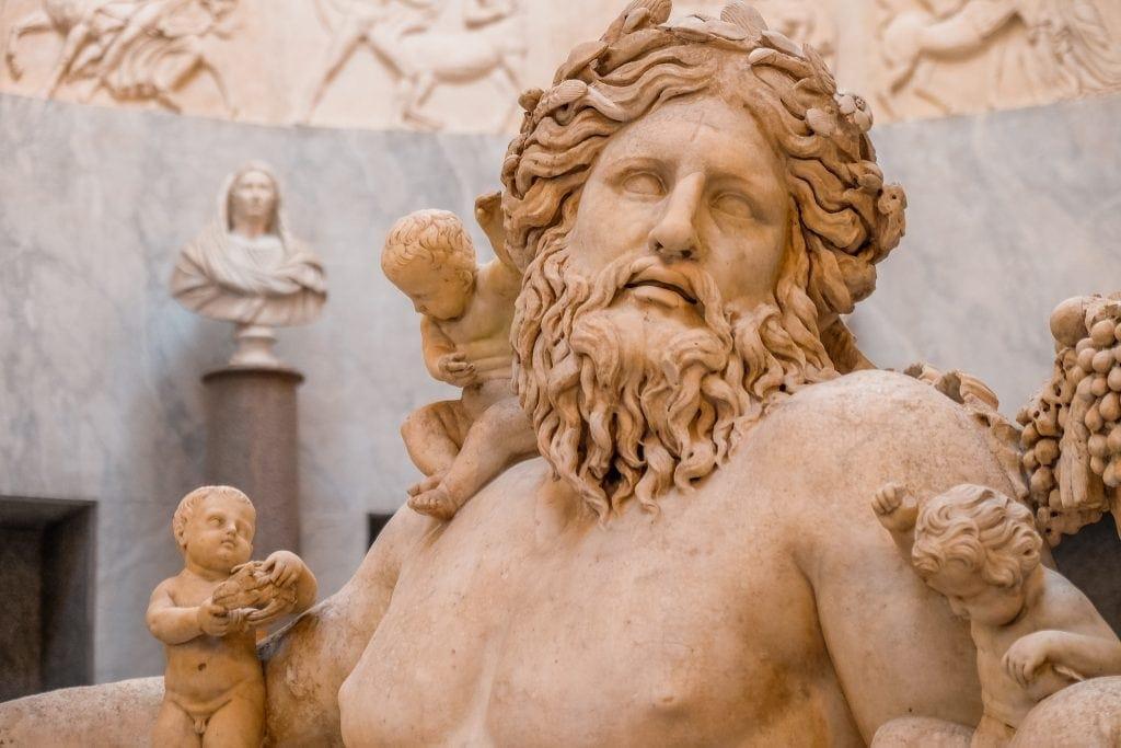 Braccio Nuovo Museus do Vaticano