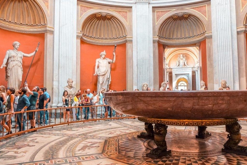 Museo Pio Clementino Museus do Vaticano