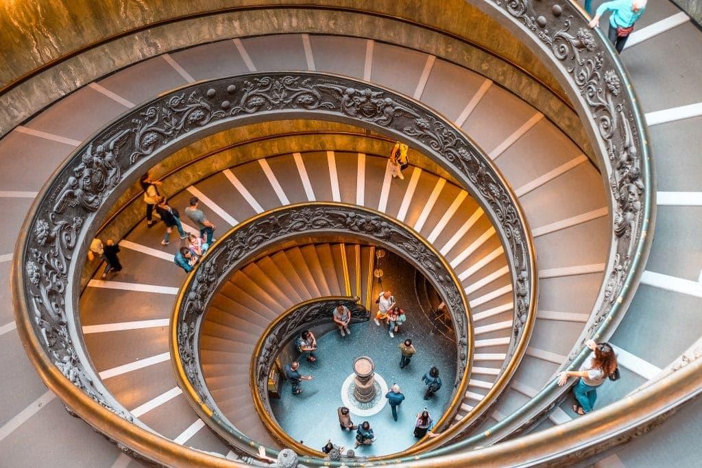 Saída dos Museus do Vaticano