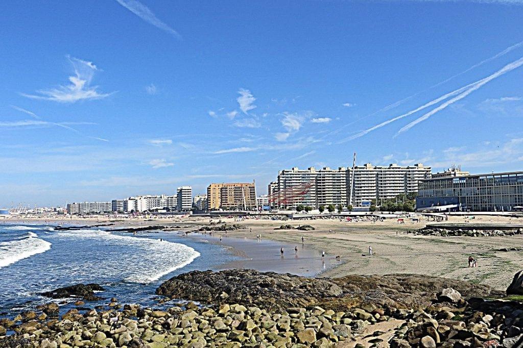 Praia de Matosinhos Beach