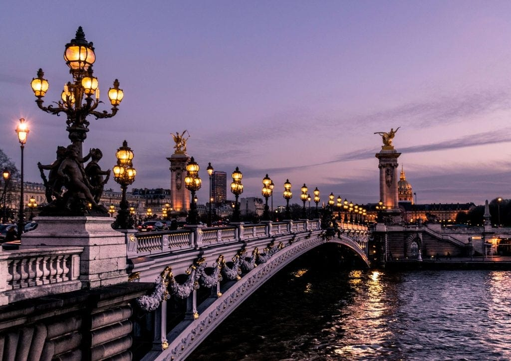 ponte em paris bridge in paris