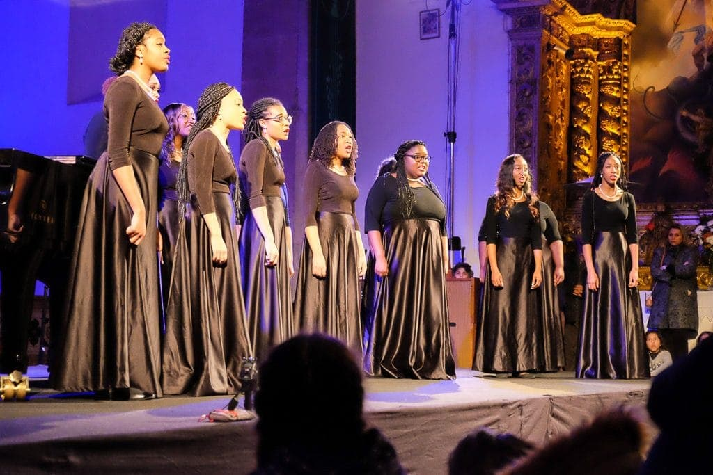 Spelman College Glee Club in Vidigueira