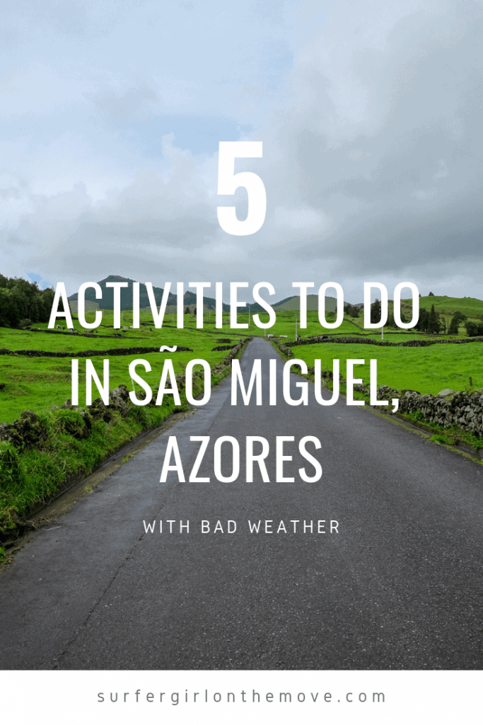 The Azores islands are famous for its unstable weather. But when a storm hits on the largest island of the archipelago, São Miguel, what to do?