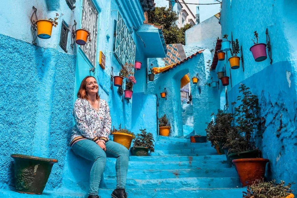 Marlene On The Move em Chefchaouen