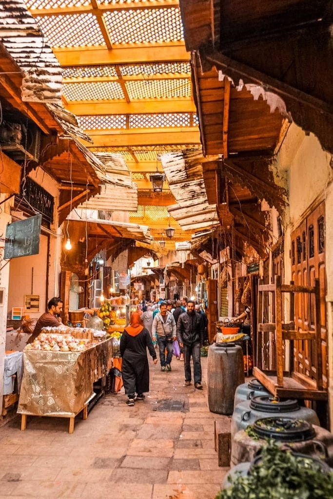 Mercado Fez Souk