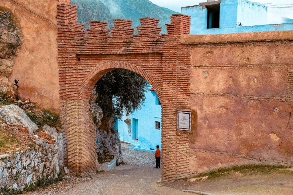 Porta Bab El-Maheruk Chefchaouen