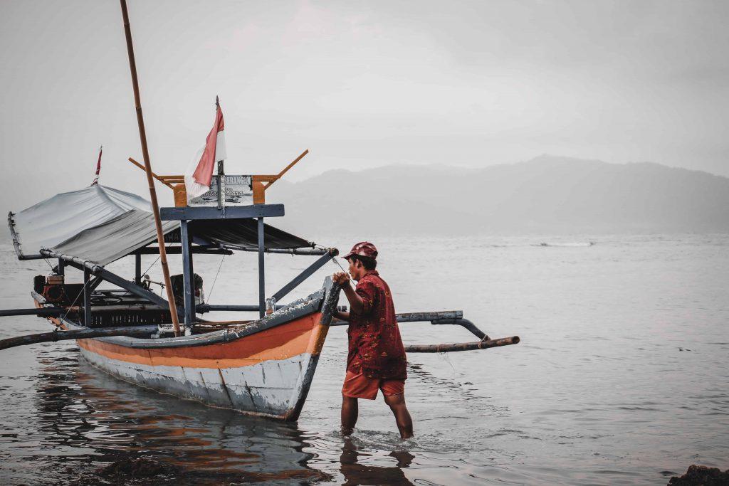 Barco Bali Boat