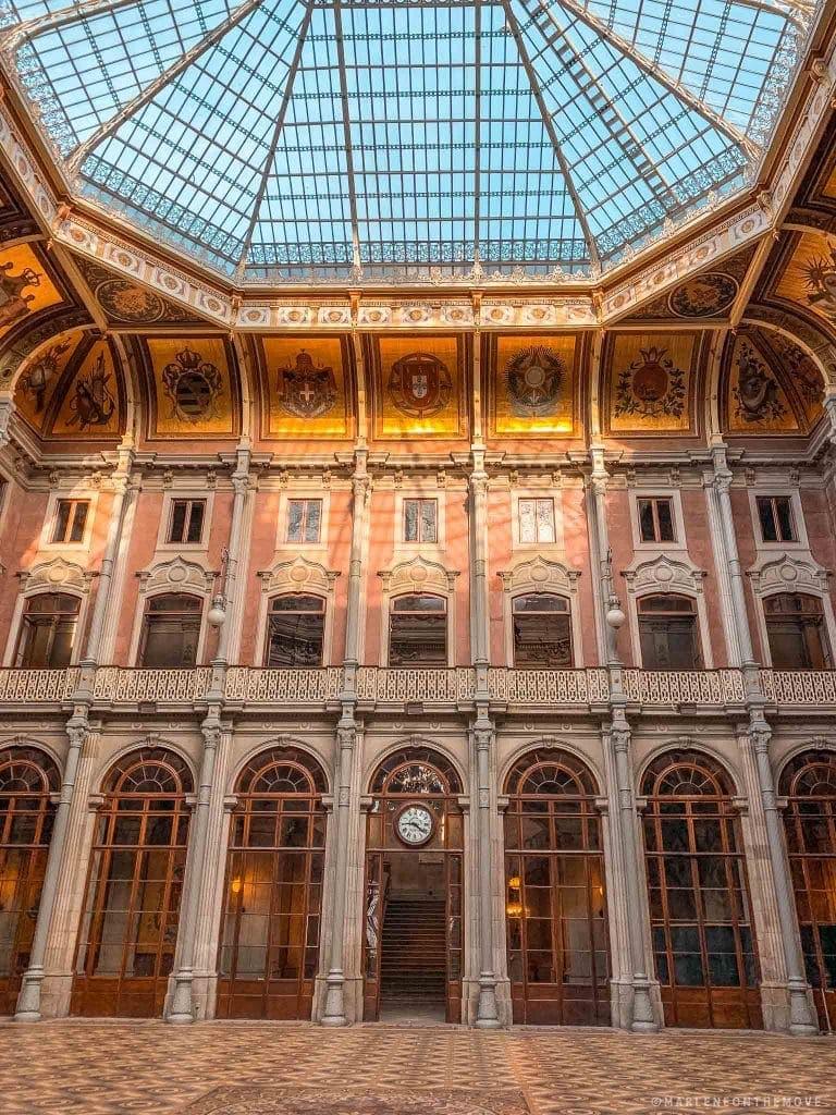 Palácio de Cristal no Porto Cristal Palace
