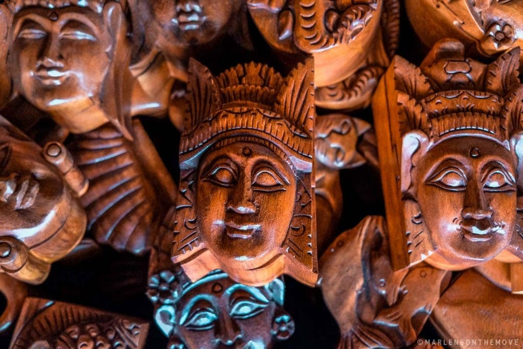 Wood Craft Bali Indonesia Artesanato