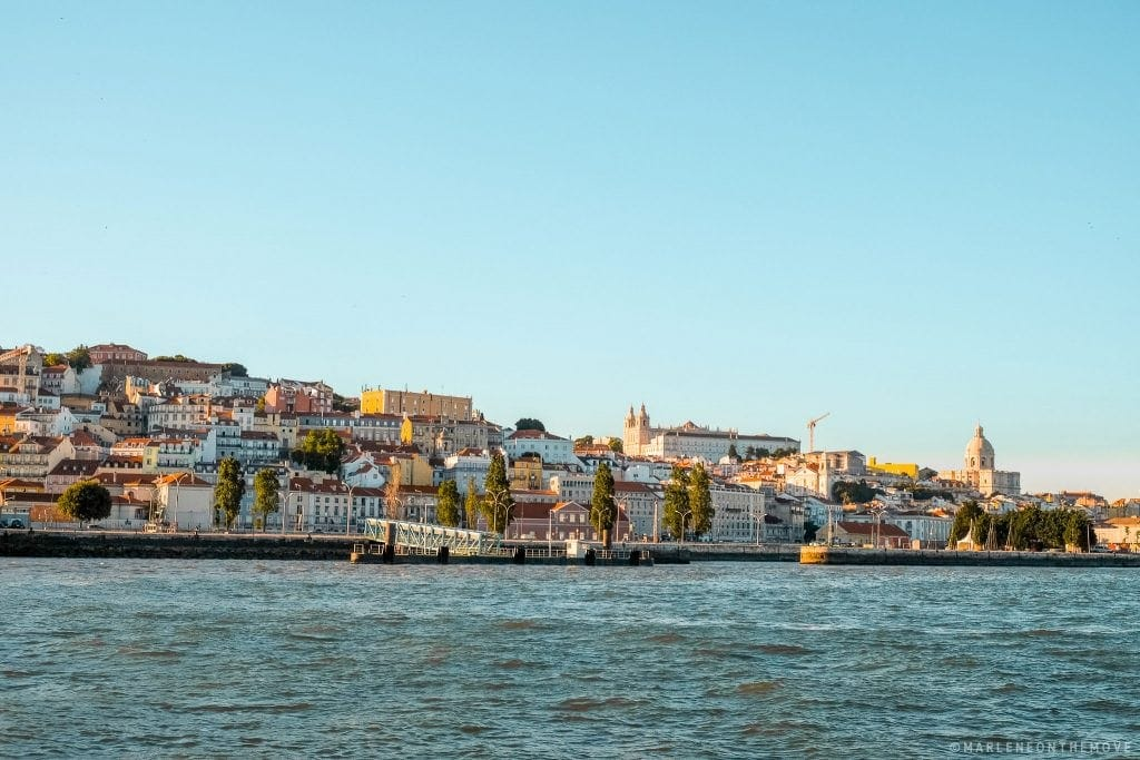 Lisbon seen from the Tagus River - Lisbon seen from the Tagus River