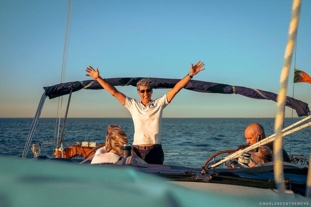 Skipper da Tagus Cruises