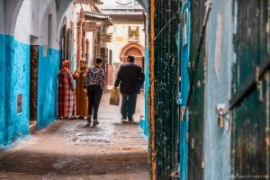 ruas de Tetouan Marrocos