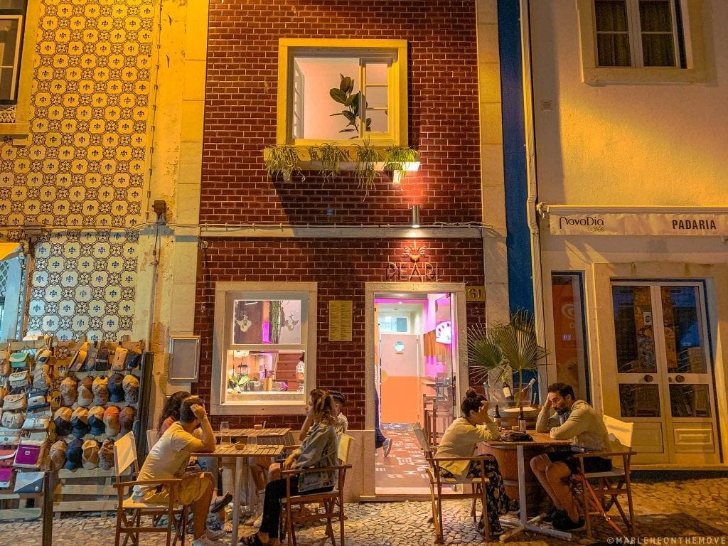Exterior Pearl Oyster & Wine Bar Ericeira