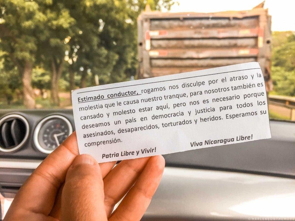 Conflito na Nicarágua