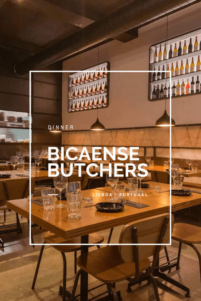 Join me on this visit to Bicaense Butchers, in Lisbon, Portugal. A city night classic now reopened as a restaurant with a new soul.