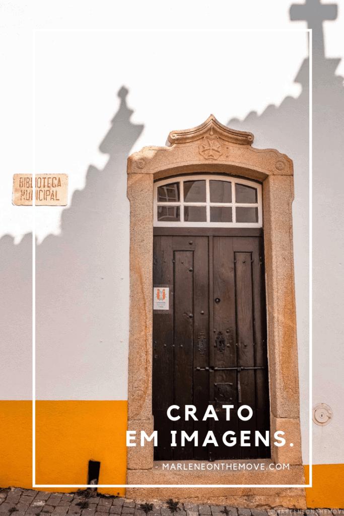 O Crato (Portugal) é uma pequena vila no Alentejo que, uma vez por ano, é palco do conhecido Festival do Crato. A desculpa perfeita para uma visita.