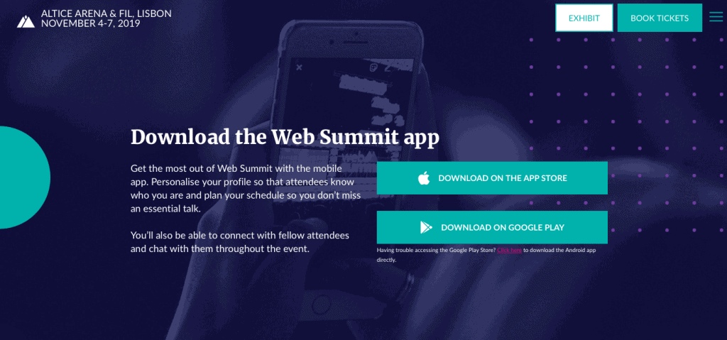 app web summit