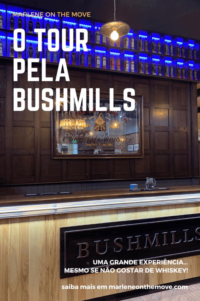 Irlanda é conhecida pela cerveja, mas também pelo whiskey. Na Irlanda do Norte descobri a Bushmills, a mais antiga destilaria do mundo. Mas como é visitar o berço desta bebida quando nem se é apreciador? Saiba neste post.