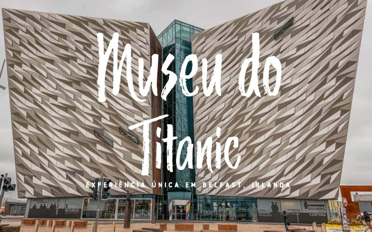 Museu do Titanic Belfast Irlanda