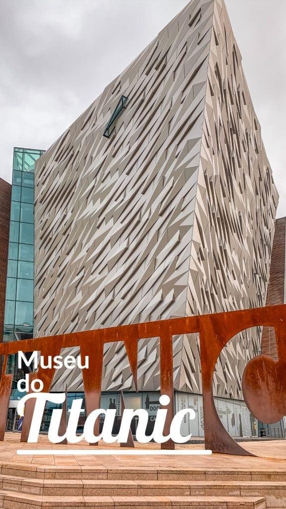 É uma das principais atrações em Belfast, na Irlanda. O Museu do Titanic existe na terra que o viu nascer e conta toda a história do navio mais conhecido do mundo.
